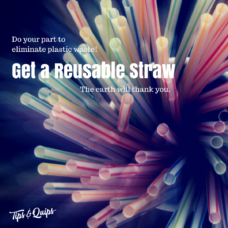 Get a Reusable Straw!
